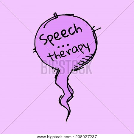 Speech Therapy Bubble
