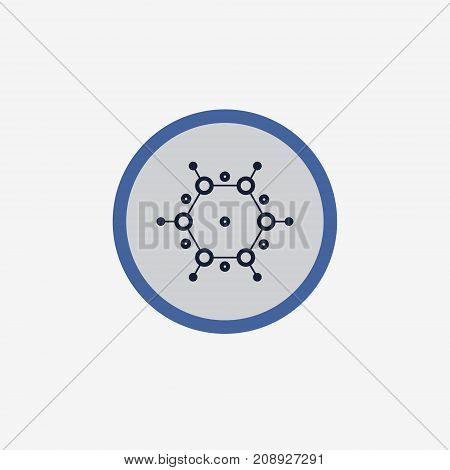 Abstract Molecule Vector Template