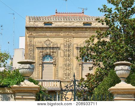 Arabic Palace Of Southern Italy.