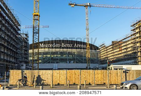 Mercedes Benz Arena In Berlin, Germany