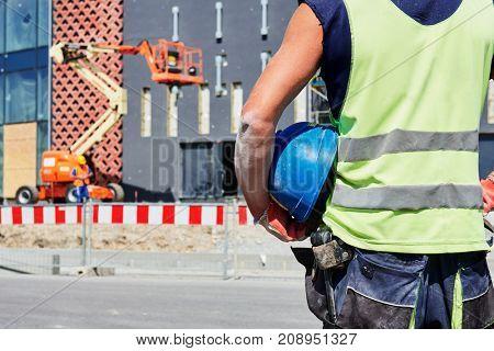 builder worker on construction site