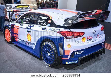 Hyundai I30 N Rally Car