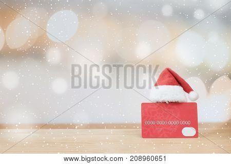 Christmas Shopping Idea Concept Background.