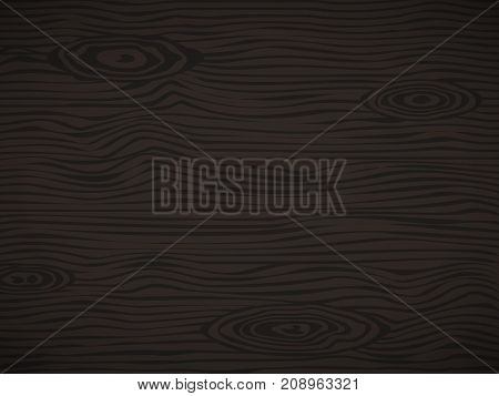 Black wooden plank, table or floor surface. Cutting chopping board. Wood texture