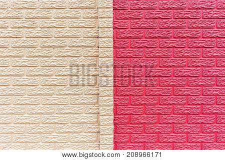 Wall Biege Cream Red  Background