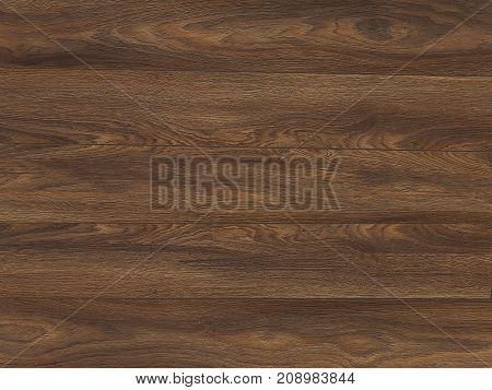 Wooden wall made of smooth boards of dark color - detailed wood texture - table background wooden walls. panel texture
