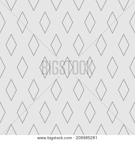 Tile vector pattern with grey seamless background