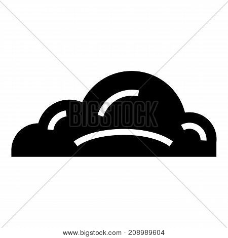 Business cloud icon. Simple illustration of business cloud vector icon for web