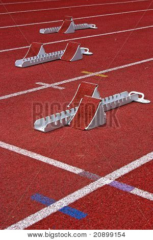 Three Starting Blocks Athletic