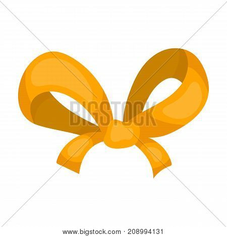 Knot, ornamentals, frippery, and other  icon in cartoon style.Bow ribbon decoration