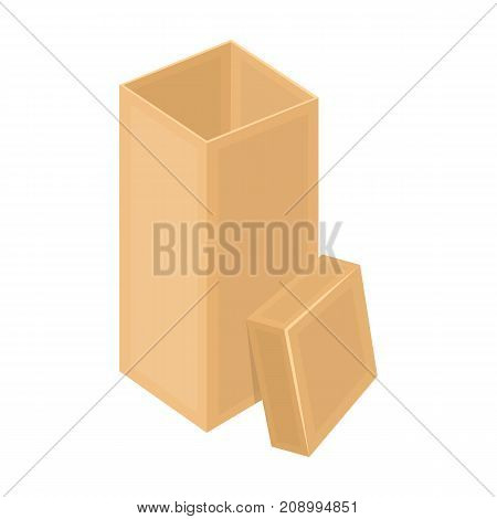 Boxing, wrapping, case, and other  icon in cartoon style.Box, container, package icons in set collection
