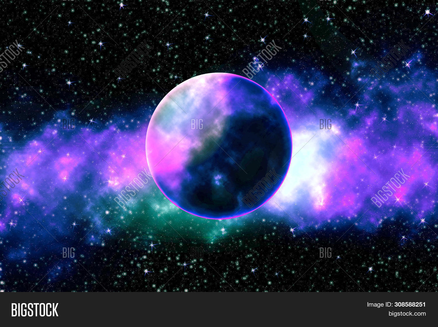 Colors Deep Space Image Photo Free Trial Bigstock