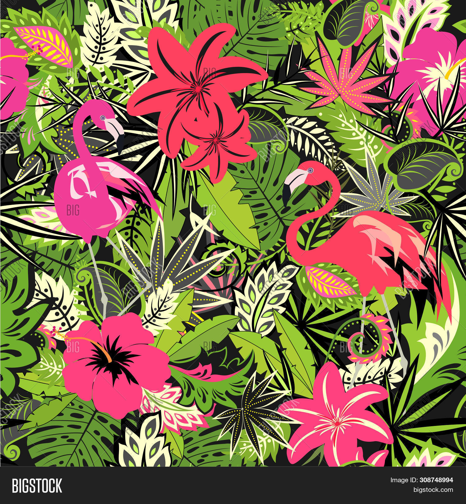 Tropical Wallpaper Image Photo Free Trial Bigstock