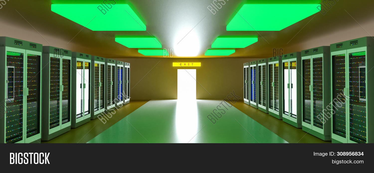 Server Racks Image Photo Free