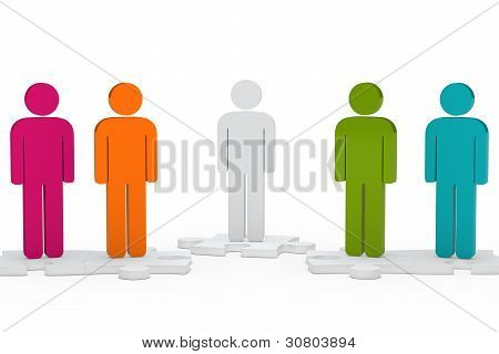 Men Figure Team