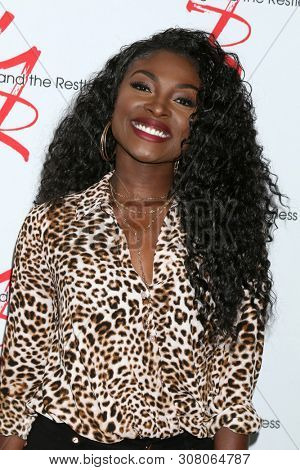 LOS ANGELES - JUN 23:  Loren Lott at the Young and The Restless Fan Club Luncheon at the Marriott Burbank Convention Center on June 23, 2019 in Burbank, CA