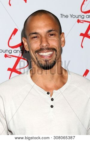 LOS ANGELES - JUN 23:  Bryton James at the Young and The Restless Fan Club Luncheon at the Marriott Burbank Convention Center on June 23, 2019 in Burbank, CA