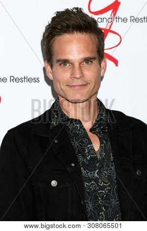 LOS ANGELES - JUN 23:  Greg Rikaart at the Young and The Restless Fan Club Luncheon at the Marriott Burbank Convention Center on June 23, 2019 in Burbank, CA