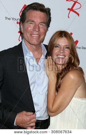 LOS ANGELES - JUN 23:  Peter Bergman, Michelle Stafford at the Young and The Restless Fan Club Luncheon at the Marriott Burbank Convention Center on June 23, 2019 in Burbank, CA