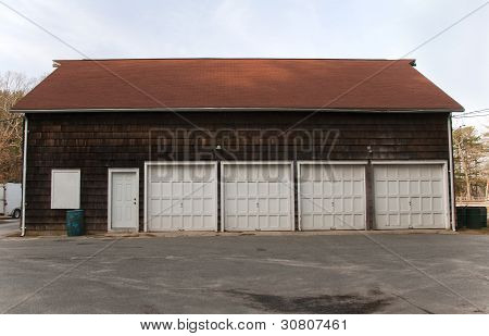 Barn With Four Doors