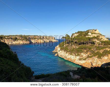 Playa De Formentor Cala Pi De La Posada , Beautiful Beach At Cap Formentor, Palma Mallorca, Spain