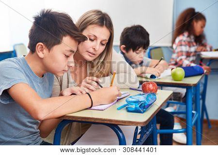 Homework teacher. Mentor with elementary school students