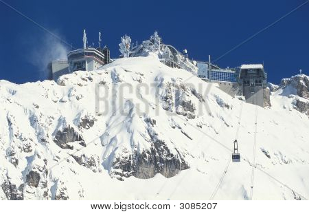 Mountain Station Of Zugspitze