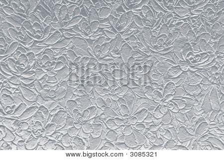 Silver Botanical Backdrop