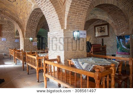 Khorramabad, Iran - March 6: Tearoom In Khorramabad, Iran On March 6, 2013. Teahouses Are Importan E