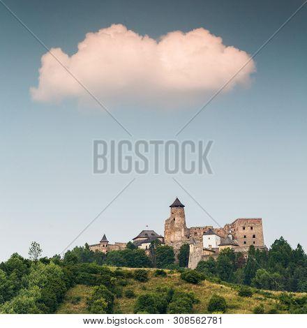 Stara Lubovna, Slovakia. 10 August 2015. Slovakia Castle, Stara Lubovna