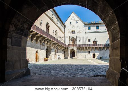Zvolen, Slovakia. 06 August 2015. Zvolen Castle (zvolensky Zamok). Zvolen Castle Was Built By Louis
