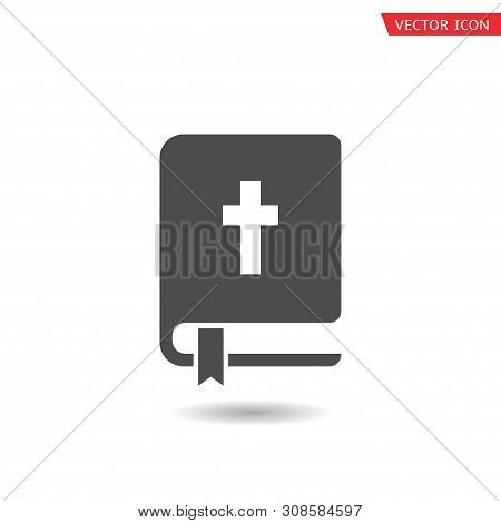 Holy Bible Icon. Book Sign, Vector Illustration