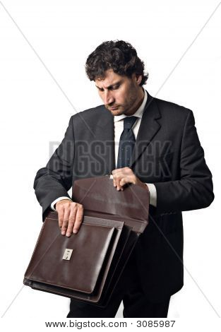 Businessman Suitcase