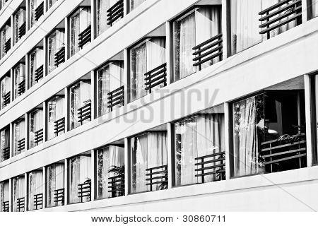 The Facade Of A Hotel