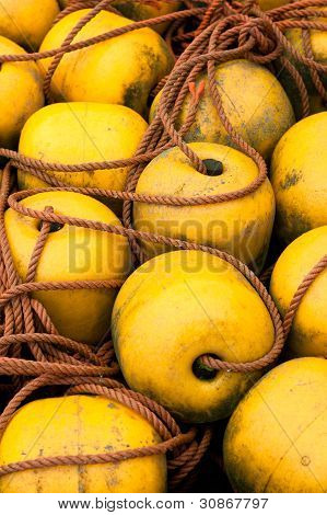 Yellow Bouy