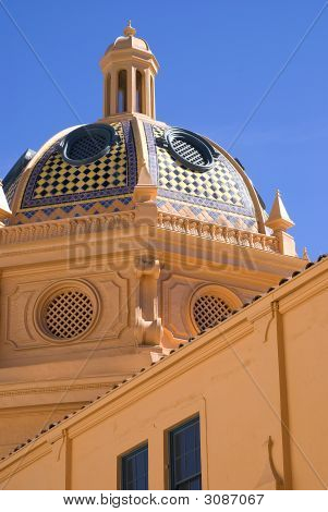 Tiled Dome with Cuppola