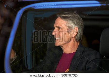 Rome, Italy - June 16, 2019: Jeremy Irons Attends