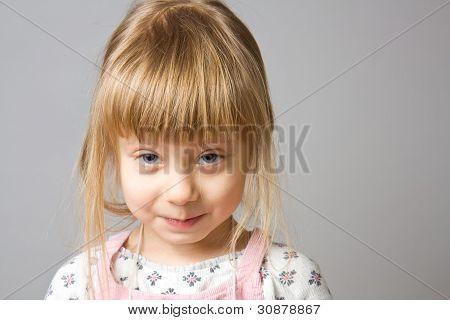 Portrait Little Girl.