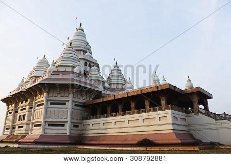 Gatha Mandir, Abode Of Sant Tukaram Revered Poet Saint At Dehu, Maharashtra, India.