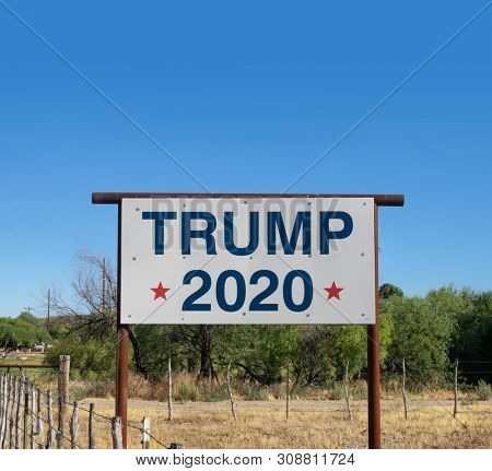 Wickenburg,Az/USA -6.27.2019 The 2020 Donald Trump presidential campaign is an ongoing reelection campaign by President?of?the?US Donald?Trump, who took?office on January 20, 2017.