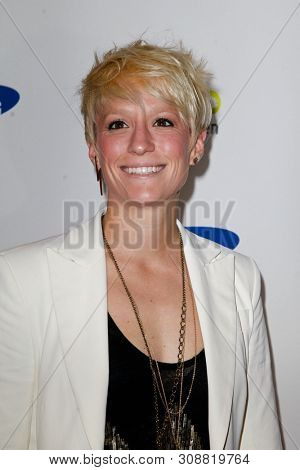 NEW YORK-JUNE 4: Olympian Megan Rapinoe attends Samsung's Annual Hope for Children gala at the American Museum of Natural History on June 4, 2012 in New York City.