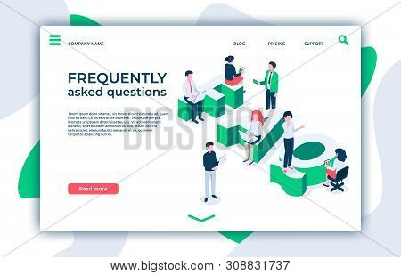 Frequently Asked Questions. Asking Question, Ask About And Faq Landing Page. Answered Information, Q