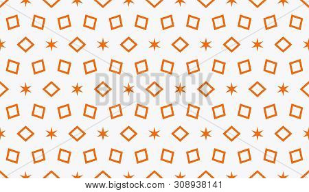 Decorative Wallpaper Design In Shape.vector Abstract Background.modern Geometric Seamless Pattern. F