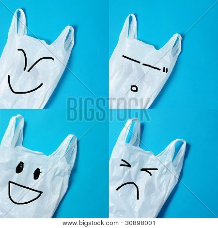 Recycle Concept of Plastic Bags