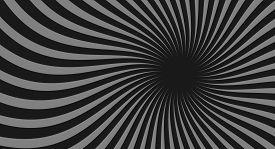 Black Spiral Background. Spiral Color Black For Background. Black Vector Background. Black Spiral Ba