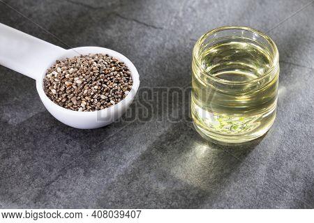 Salvia Hispanica - Chia Seeds And Oil