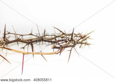 Crown Of Thorns Symbol Of The Christian Religion