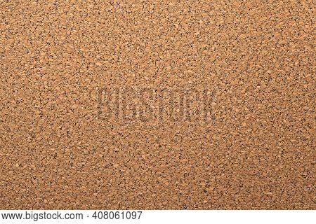 Closeup Texture Of Rough Brawn Cork Wood