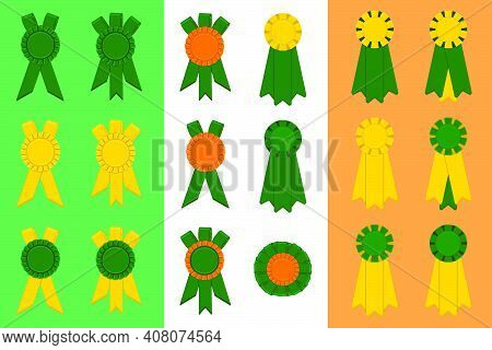 Irish Holiday St Patrick Day, Big Set From Trophy Rewards. Pattern St Patrick Day Consisting Of Many
