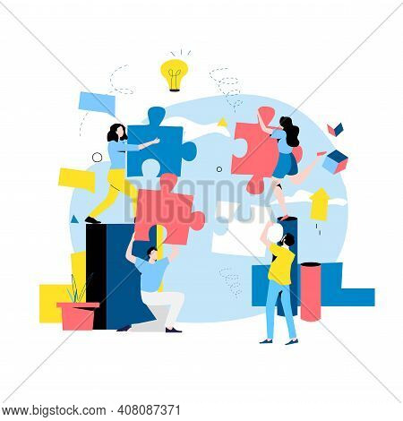 Team Work, Team Building, Corporate Organization, Partnership, Problem Solving, Innovative Business
